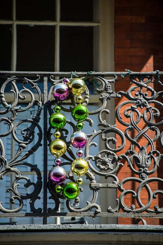 The Wrought Iron Balconies Of New Orleans