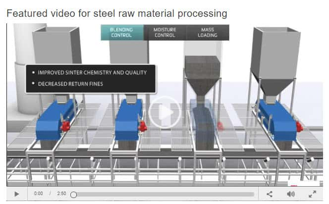 Raw Materials Quality Control for Steel Manufacturing Video