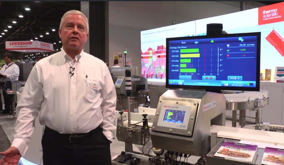 Demo of multiscan technology at PackExpo