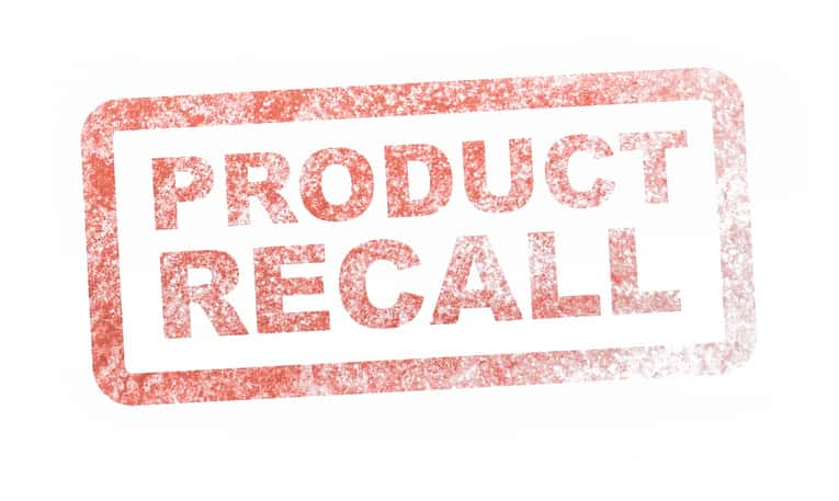 product recall stamp