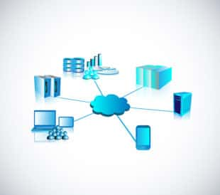 Abstract image of web portal and connectivity concept. Image: TechnoVectors/Shutterstock.com