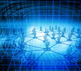 Conceptual image of networking and collaboration. Image: bluebay/Shutterstock.com