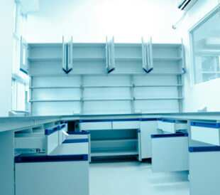 Empty lab. Image: Pan Xunbin/Shutterstock.com
