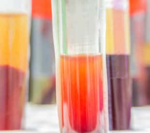 Test tubes with separated serum and blood. Image: Pongsak A/Shutterstock.com