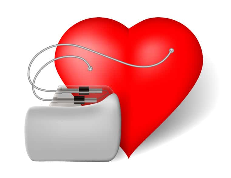 What are some companies that manufacture heart pacemakers?