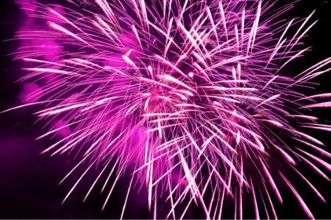 Rubidium Gives Fireworks a Purple Color