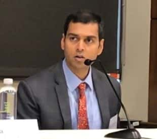 Joydeep Goswami, president of Clinical Next Generation Sequencing and Oncology for Thermo Fisher Scientific