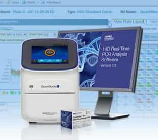 Graphic of Real-time PCR analysis software