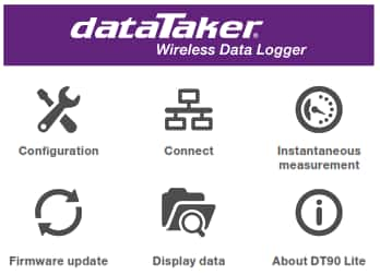 dataTaker feature highlights
