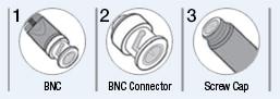 ISE electrode connectors