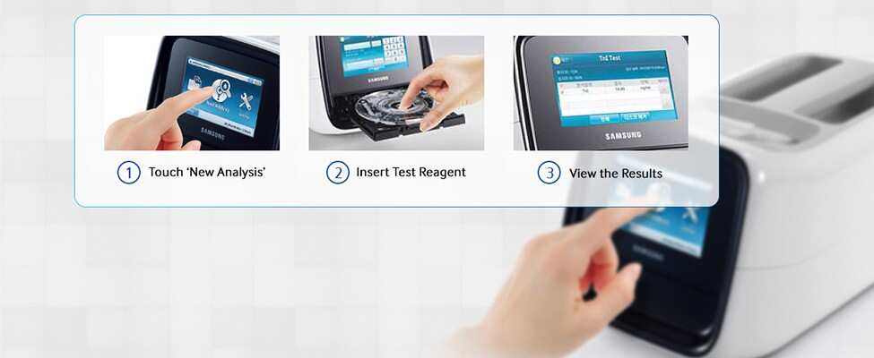 Clinical Diagnostics - Samsung LABGEO POC Testing | Thermo