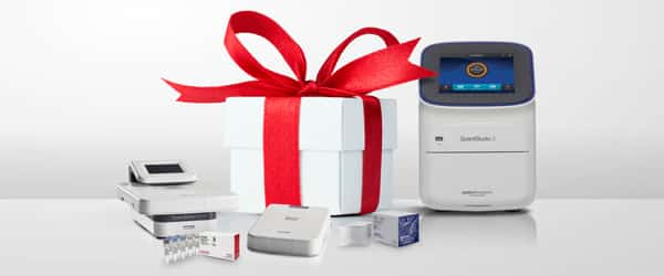 Treat your lab to an early Christmas—Up to 30% off benchtops, accessories, consumables and reagents