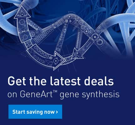 Get the latest deals on GeneArt® gene synthesis