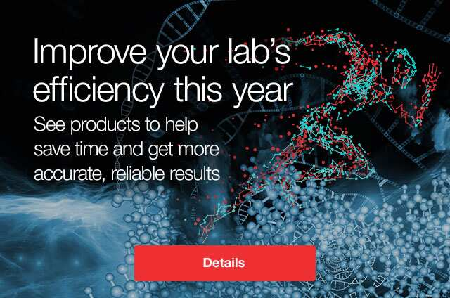 Improve your lab's efficiency this year