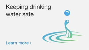 Keeping drinking water safe