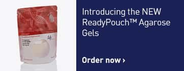 Introducing ReadyPouch™ Agarose