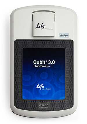 Photo of the Qubit® 3.0 Fluorometer