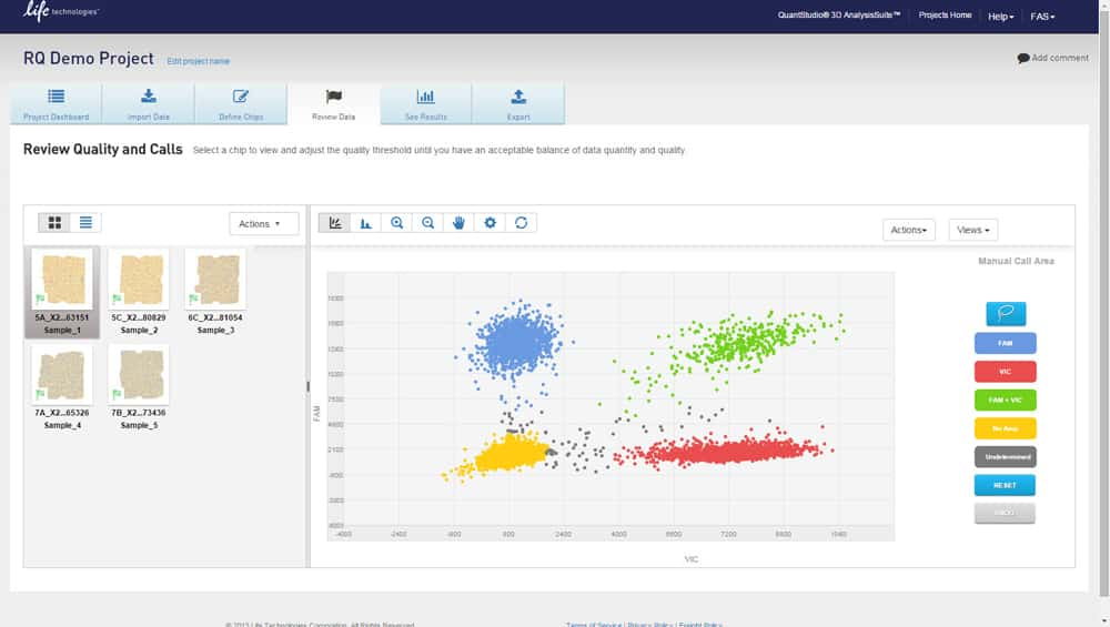 QuantStudio 3D AnalysisSuite Cloud Software | Thermo Fisher Scientific