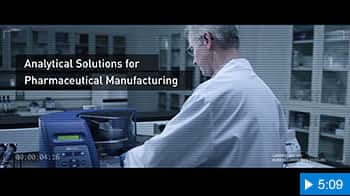 Video image for Analytical Solutions for Pharmaceutical Manufacturing