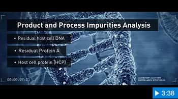 Video image for Product and Process Impurities Analysis