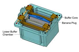 XCell4 SureLock™ Midi-Cell Electrophoresis Unit Schematic
