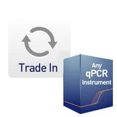 Trade in any qPCR instrument