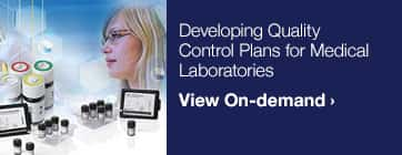 Quality Control Webinar Series — On-demand