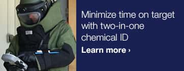 Minimize time on target with two-in-one chemical ID