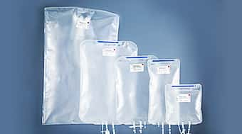 Various sizes of cell culture bags
