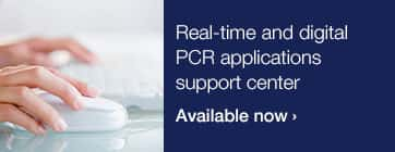 Real-time and digital PCR applications support center