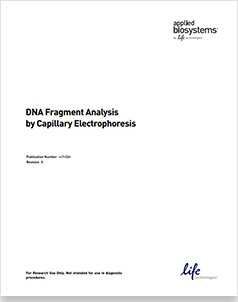 DNA Fragment Analysis by  Capillary Electrophoresis