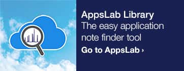 AppsLab Library – The easy application note finder tool – Go to AppsLab >