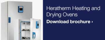 Heratherm Heating and Drying Ovens Brochure Download
