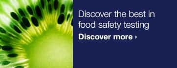 Discover the best in food safety testing