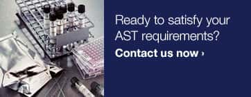 Let us help you find the solution matched to your AST needs