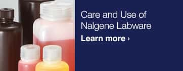 Care and Use of Nalgene Labware